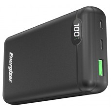 УМБ Power Bank Energizer 20000mAh 1USB Type-C 3A Black (UE20003PQ (B))