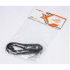 Удлинитель USB-USB 2.0 AM-AF Maxxter 1m ферритовый фильтр Black
