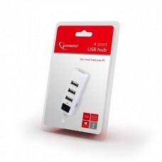 USB HUB Gembird USB-USB 4USB 2.0 UHB-U2P4-21 White