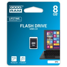 Флешка USB 8GB GoodRam UPI2 Piccolo Black (UPI2-0080K0R11)