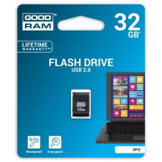 Флешка USB 32GB GoodRam UPI2 (Piccolo) Black (UPI2-0320K0R11)