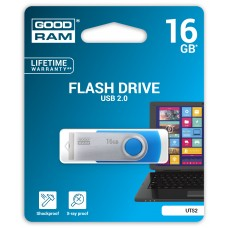Флешка USB 16GB GoodRam UTS2 Twister Blue (UTS2-0160B0R11)