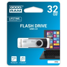 Флешка USB 32GB GoodRam UTS2 Twister Black (UTS2-0320K0R11)