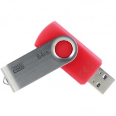 Флешка USB 3.0 64GB GoodRam Twister Red (UTS3-0640R0R11)
