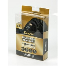 Кабель HDMI-HDMI v1.4 Viewcon A 5m Black