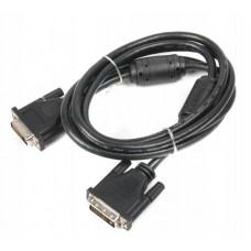 Кабель DVI-DVI феррит Viewcon 1.8m Black