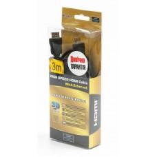 Кабель HDMI-HDMI v1.4 Viewcon 3m Black