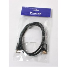 Кабель HDMI-HDMI v2.0 Viewcon 1m Black