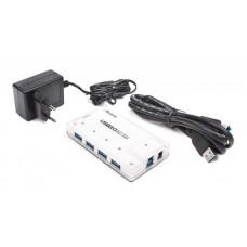 USB HUB Viewcon USB-USB 4USB 3.0 VE323 White