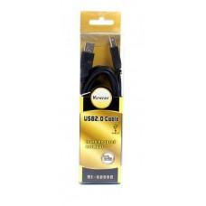Удлинитель USB-USB 2.0 AM-AF Viewcon 1.8m Black