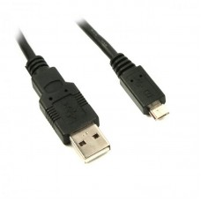 Кабель Viewcon USB-MicroUSB 1.5m Black (VW009)