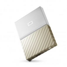 "Внешний жесткий диск HDD 2.5"" USB 3.0 2TB WD My Passport Ultra White/Gold (WDBFKT0020BGD-WESN)"