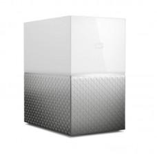 """Внешний жесткий диск HDD 3.5"""" 2USB 3.0 RJ-45 LAN 4Tb WD My Cloud Home Duo Grey (WDBMUT0040JWT-EESN)"""