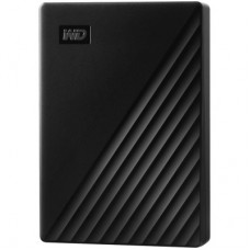 "Внешний жесткий диск HDD 2.5"" USB 3.0 4Tb WD My Passport Black (WDBPKJ0040BBK-WESN)"
