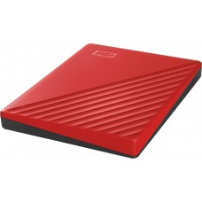 "Внешний жесткий диск HDD 2.5"" USB 3.0 4TB WD My Passport Red (WDBPKJ0040BRD-WESN)"