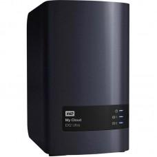 "Внешний жесткий диск HDD 3.5"" USB-RJ45 3.0 4Tb WD My Cloud EX2 Ultra NAS Black (WDBVBZ0040JCH-EESN)"