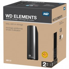 "Внешний жесткий диск HDD 3.5"" USB 3.0 3Tb WD Elements Desktop Black (WDBWLG0030HBK-EESN)"