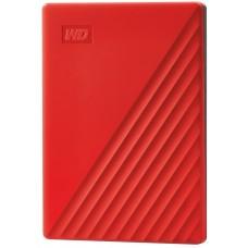 """Внешний жесткий диск HDD 2.5"""" USB 3.0 2Tb WD My Passport Red (WDBYVG0020BRD-WESN)"""