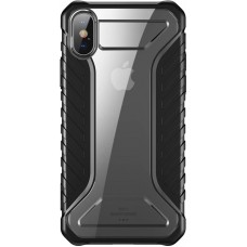 Чехол накладка TPU Baseus Michelin для iPhone XS Max Black (WIAPIPH65-MK01)