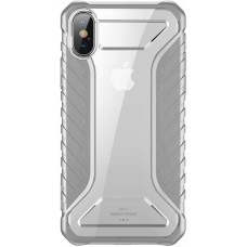 Чехол накладка TPU Baseus Michelin для iPhone XS Max Grey (WIAPIPH65-MK0G)