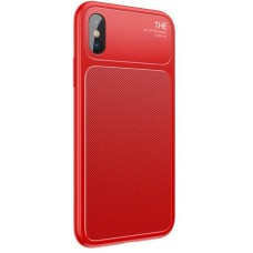 Чехол накладка TPU Baseus Knight для iPhone X XS Red (WIAPIPHX-JU09)