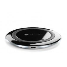 Беспроводное зарядное устройство Cellularline Ultra-slim Black (WIRELESSPAD)