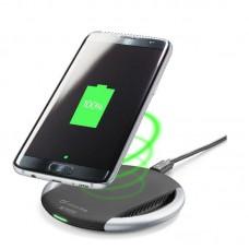 Беспроводное зарядное устройство Cellularline with Adaptive Technology Black (WIRELESSPADADAPTK)