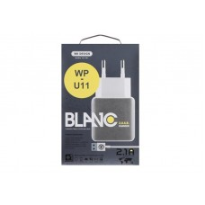 СЗУ WK Blanc WP-U11 2USB 2.1A White