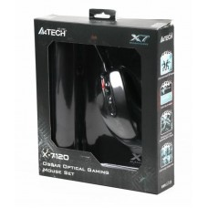 Мышь A4Tech X-710BK Black USB + коврик A4Tech X7-200MP