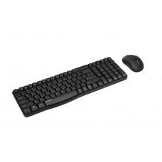 Комплект клавиатура + мышь Rapoo X1800S Wireless Black