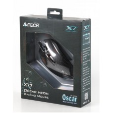 Мышь A4Tech X77 Oscar Neon Black USB