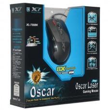 Мышь A4Tech XL-750BK-B Black USB Laser