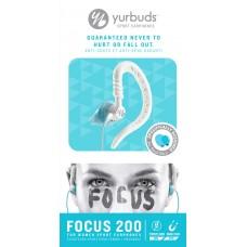 Наушники вакуумные Yurbuds Focus 200 Women White/Aqua (YBWNFOCU02ANW)