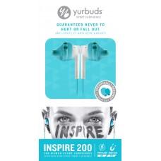 Наушники вакуумные Yurbuds Inspire 200 Women Aqua (YBWNINSP02ANW)