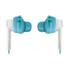 Наушники гарнитура вакуумные Yurbuds Inspire 300 Aqua/White (YBWNINSP03ANW)
