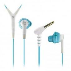 Наушники гарнитура вакуумные Yurbuds Inspire 400 For Women Aqua/White (YBWNINSP04ANW)