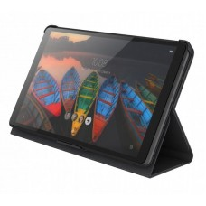 Чехол книжка PU Lenovo Folio Case and Film для Lenovo Tab M8 HD TB-8505F Black (ZG38C02863) + пленка