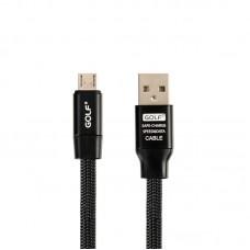 Кабель USB-Type-C Golf Momory GC-56t Black