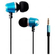 Наушники гарнитура вакуумные iPipoo iP-B60i Blue