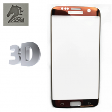 Защитное стекло Fema 3D для Samsung Galaxy S7 Edge G935F Brown