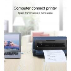 Кабель USB-Type-B 2.0 Vention 3m 480Mbps Printer Black (COQBI)
