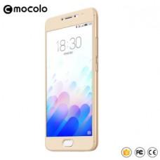 Защитное стекло Mocolo Full сover для Meizu MX6 золотистый