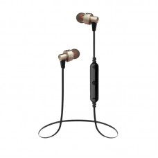 Наушники гарнитура вакуумные Bluetooth Awei A990 sport Gold