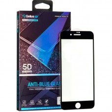 Защитное стекло Gelius Pro 5D Full Glue Anti-Blue для iPhone 7 8 Black