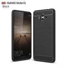 Чехол накладка TPU SK Fiber Carbon для Huawei Mate 10 Black