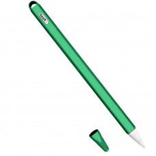 Чехол TPU Goojodoq Hybrid Ear для стилуса Apple Pencil 2 Green