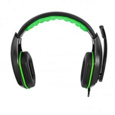 Наушники гарнитура накладные Gemix X-350 Black/Green