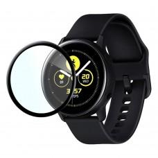 Защитная пленка Optima 3D Pet для Samsung Watch Active R500 черный