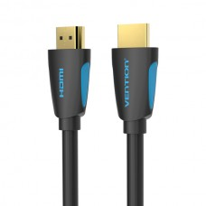 Кабель HDMI-HDMI v.2.0 Vention 4K 60Hz 18Gbps gold-plated 1.5m Black (VAA-M02-B150)