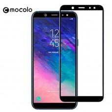 Защитное стекло Mocolo Full сover для Samsung Galaxy A6 Plus 2018 черный